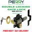 50mm PERRY di sicurezza da giardino per portone serratura Lungo Lanciare doppio bloccaggio Bullone