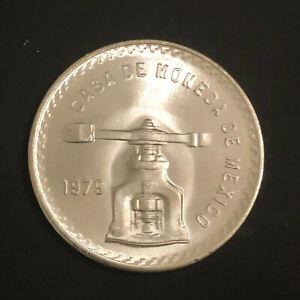 1979-Casa-De-Moneda-De-Mexico-1-oz-Silver-Onza-Peso-GEM-Uncirculated
