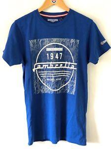 Lambretta-Distressed-Background-T-Shirt-1947-Print-SS0684-Royal-Blue-S-4XL-15