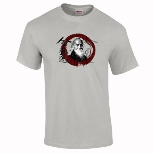 Aikido MMA Morihei Ueshiba Samurai Gift Martial Art T-Shirt to 5XL