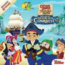 NEW Captain Jake and the Never Land Pirates The Great Never Sea Conquest