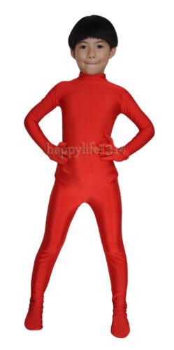 Headless Kid Children Lycra Spandex Zentai costume Bodysuit Catsuit Unitard