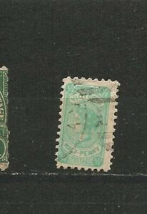 QUEEN-VICTORIA-Half-Penny-Postage-OLD-STAMPS-TIMBRES-SELLOS-timbres