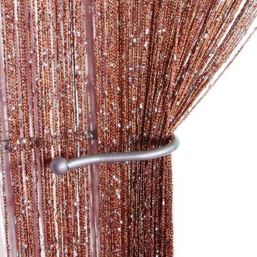 Glitter String Vorhang Panels Fliegengitter /& Raumteiler Voile Net Vorhänge J8S7