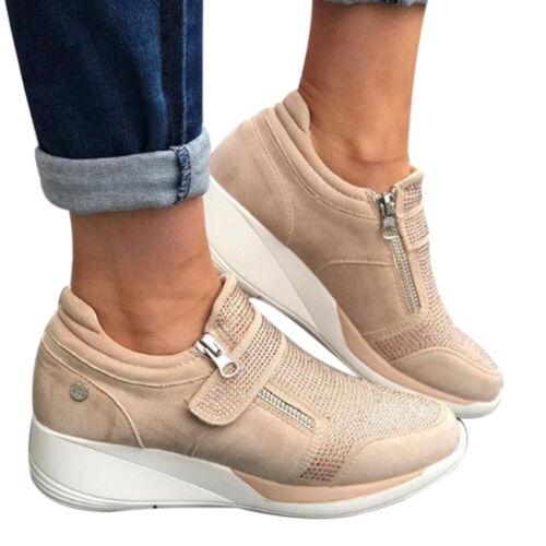 Damen Sportschuhe Sneaker Turnschuhe Freizeitschuhe bequem atmungsaktiv Shoes