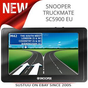 Snooper-SC5900-DVR-Truckmate-GPS-SatNav-HGV-Navigation-System-Dash-Cam-Full-EU
