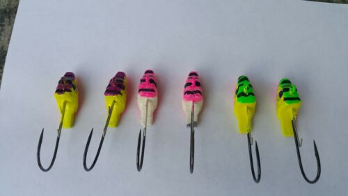 Assorted Colors of Swimbait Jig Heads Lot of 6