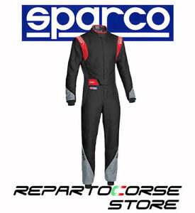 TUTA-RACING-SPARCO-NEW-EAGLE-RS-8-2-NERO-GRIGIO-ROSS-FIA-8856-2000-0011278H