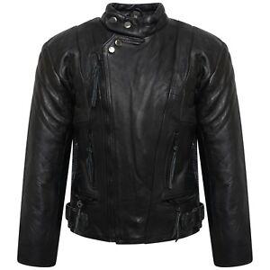 Boys-Girls-Genuine-Leather-Motorcycle-Limo-Kids-Biker-Jacket-5-To-10-Years