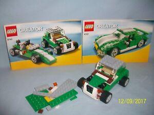 Lego Set 6743 Street Speeder 3 In 1 Creator 100 Complete W