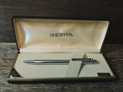 1980 Made In USA Sheaffer Targa Thuya Ronce /& Gold Ballpoint Pen Mint NOS