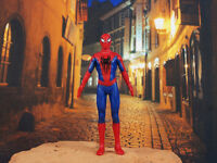 Marvel Superhero Amazing Spider-Man Peter Parker Toy Figure Cake Topper K1235 B