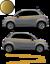 Fiat-500-Autocollant-Bandes-Stickers-adhesifs-decoration-couleur-au-choix miniatura 7