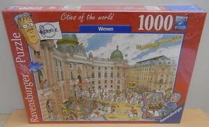 Comic-puzzle-Sealed-1000-pieces-Frans-Le-Roux-Ravensburger-2017-Wenen-Wien