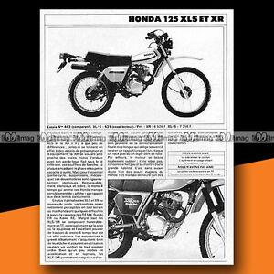 HONDA-XL-125-S-XLS-amp-125-XR-1981-Essai-Moto-Original-Road-Test-a463