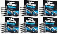 Gillette Sensor Cartridges - 6 X 5 Pack (30 Blades Total)