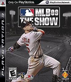 MLB 09 The Show Sony PlayStation 3, 2009  - $15.00