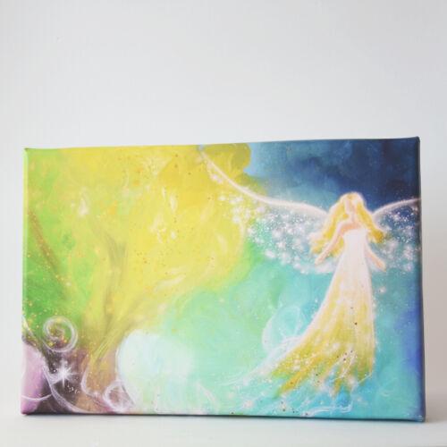 """nature Spirituel La Fresque ➡ /""""Protecteur du vivant/"""" engelbild avec arbre"""