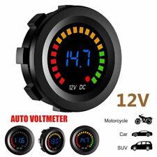 12v Car Motorcycle Led Digital Display Voltmeter Voltage Volt Gauge Panel Meter