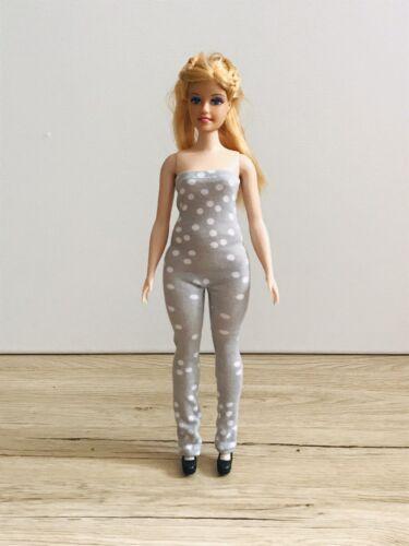 Overall Für Barbie Curvy barbie kleidung handarbeit