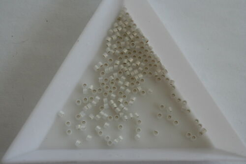 taille 11 600 Perles Approx #2770 Silver Lined Opal Miyuki Delica seed beads