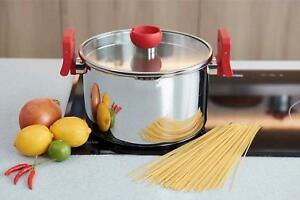 Buy Michelangelo 5 Quart Stainless Steel Pasta Pot Induction Ready
