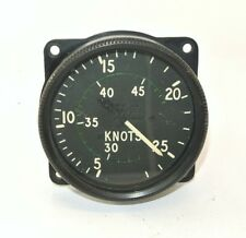 RAF RN Aircraft Airspeed Indicator 450 Knots Gauge Mk 9G*(P) 6A / 3146