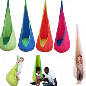 Child Kids Pod Swing Chair Nook Tent Indoor Outdoor Garden Hanging Seat Hammock