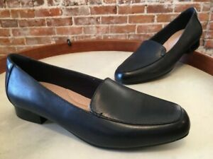 Clarks Navy Blue Leather Juliet Lora