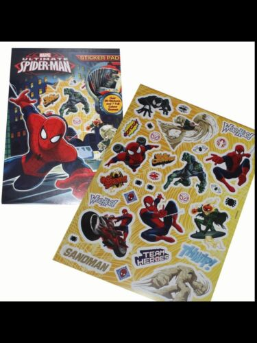 MARVEL ULTIMATE SPIDERMAN STICKER PAD GIFT TRUSTED UK SUPPLIER BRAND NEW LOOT