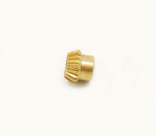 0.5-0.8 Modulus Brass Bevel Gear 15-25 Tooth 90° Drive 3 to 6mm Hole Dia