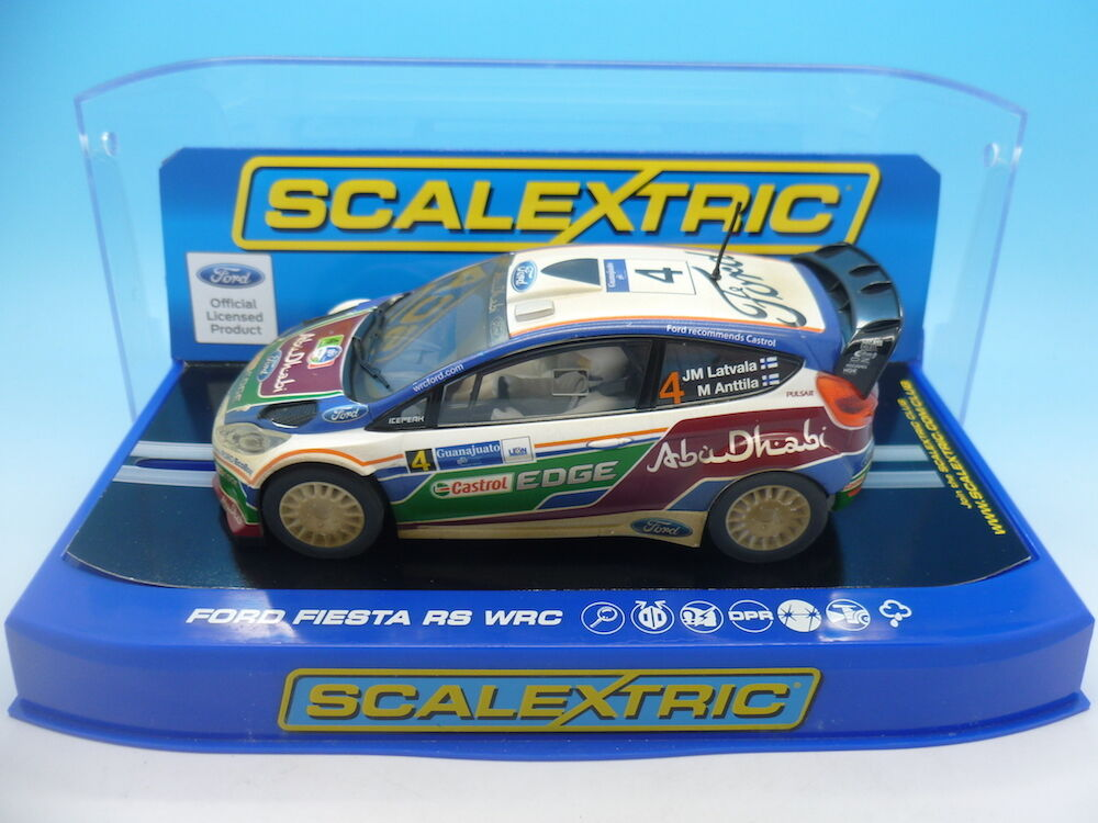 Scalextric C3300 Ford Fiesta RS WRC, No.4 Latvala Annttila