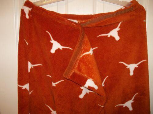 Texas Longhorns Spa Body Wrap Shower Towel Super Soft /& Comfy Size Medium Large