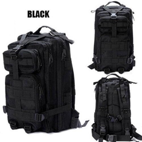 35L 3P Outdoor Backpack Oxford Military Army Tactical for Cycling Hiking Sports