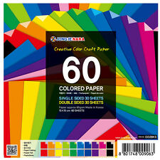 60 Sheets Origami Paper 30 Double and 30 Single sided