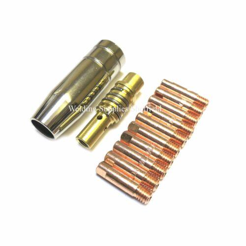 MB15 MIG NOZZLE SHROUD SIP DRAPER CLARKE etc COMPATIBLE 10 MIG TIP