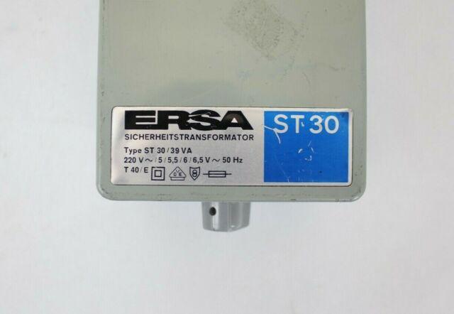 Soldering Station Type ST30//39VA ERSA ST 30 Safety Transformer