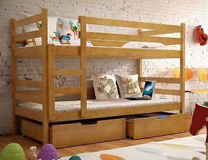 Etagenbett Hochbett Doppelstockbett : Bett alice etagenbett hochbett Öko doppelstockbett kinderbett