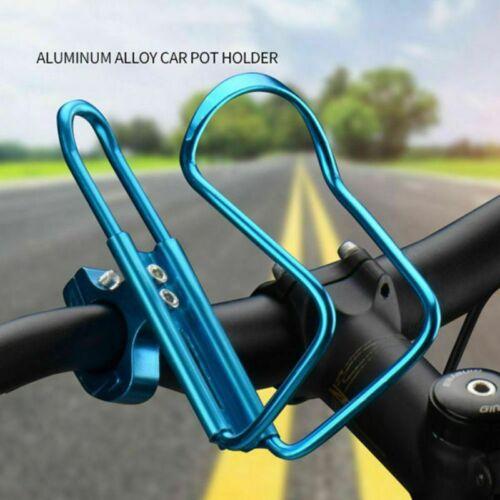 NEW Bike Bicycle  Drink Water Kettle Bottle Holder Cages Handlebar Bracket USA.