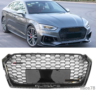 Fits AUDI A5 S5 B9 RS5 STYLE 2017-2019 FRONT BUMPER GRILLE ...