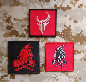 nswdg red squadron patch set seal team six devgru red team