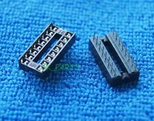 50 X New 16 Pin 16pin Ic Sockets Adaptor Solder Type