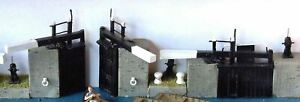 Narrow-lock-gates-sundries-for-canal-F6a-UNPAINTED-OO-Scale-Langley-Models-Kit