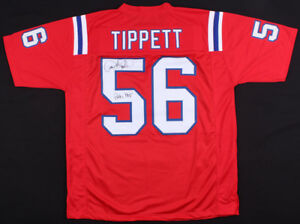 Details about Andre Tippett Signed New England Patriots Jersey Inscribed HOF 08 (JSA COA)SB.XX