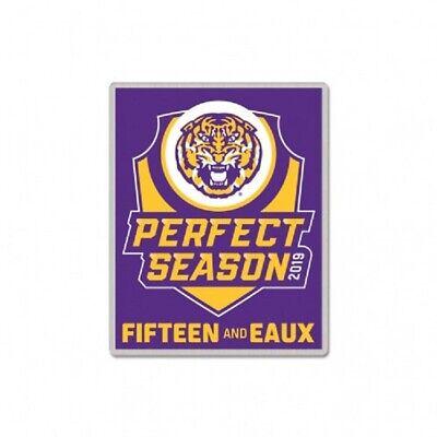 Set of 4 Louisiana State University LSU Tigers Logo Collector Pins