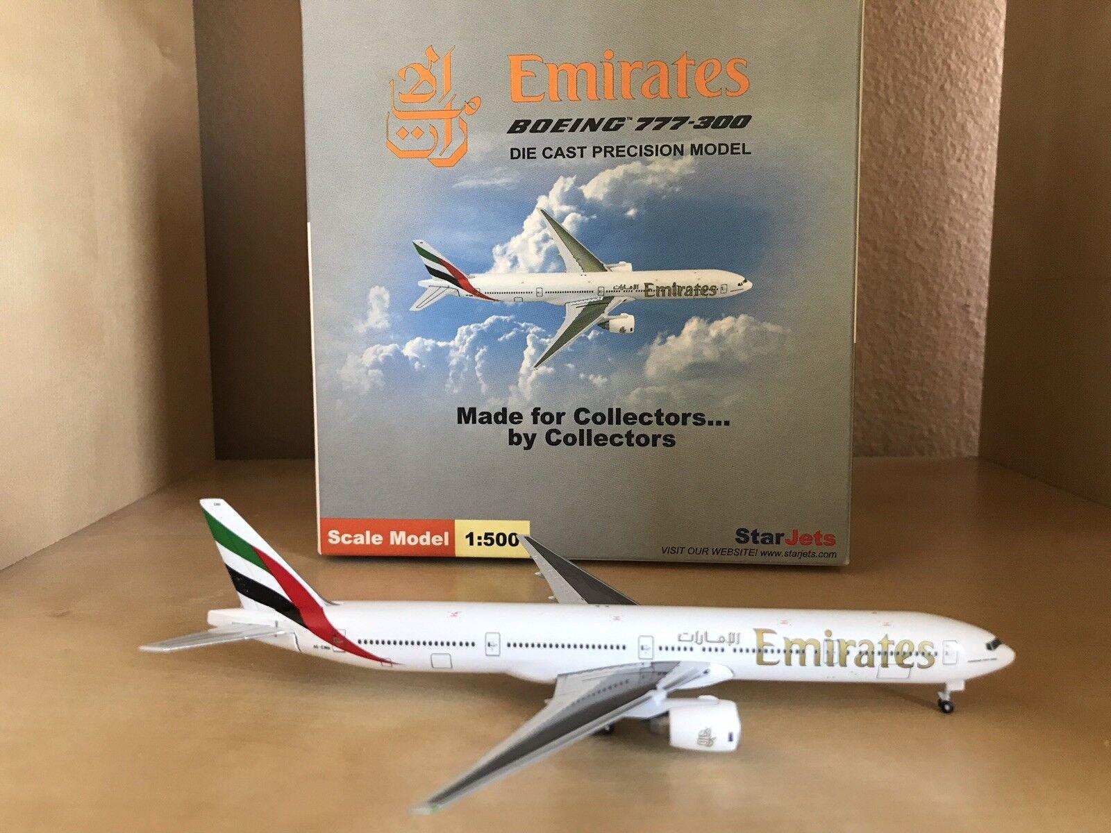 Emirates Boeing 777-300 1 500 Escala Modelo Por EstrellaJets