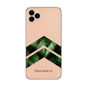 Coque Iphone 12 PRO MAX chevron jungle personnalisee