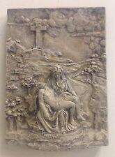 michelangelo's pieta Wall Sculpture Mother Mary Jesus 3D