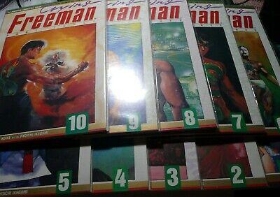 VIZ MANGA COMICS NM CRYING FREEMAN #1-#8 GRAPHIC NOVEL SET