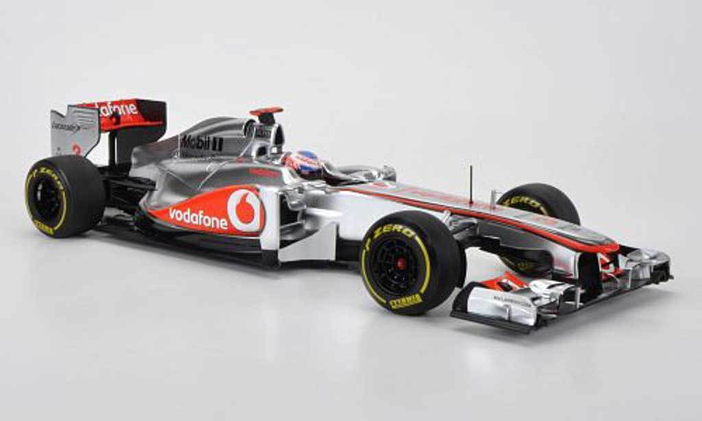 Minichamps 530121873 - McLaren Mercedes Showcar Showcar 2012 Button  1 18